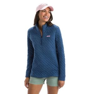 VINEYARD VINES RELAXED HEATHER QUILTED New $128